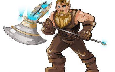 World of Dwarves nieuwe serie van Yarkin en Berny
